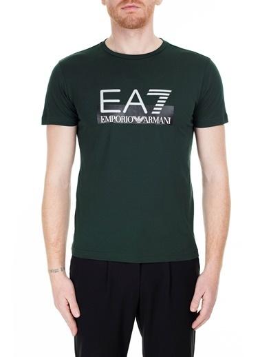 EA7 Emporio Armani  T Shirt Erkek T Shırt S 6Gpt81 Pjm9Z 1860 Haki